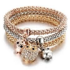 rhinestone bracelet charms images Themed rhinestone charms bracelet triplet valourbell jpg