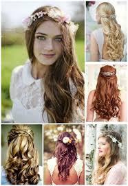 coiffure mariage cheveux lach s cheveux laches coiffure mariage printemps coiffures pour un