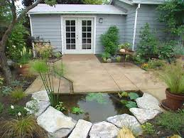 deck landscaping the fire pit is the focal point of pertaining to