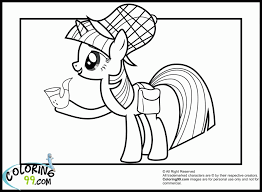 my little pony coloring pages twilight sparkle alicorn free 204700