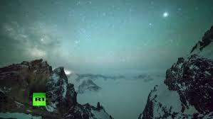 lyrid meteor shower video lyrid meteor shower creates stunning night in sky in china
