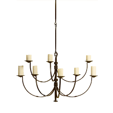 Rose Tarlow by Iron Chandelier From Rose Tarlow Melrose House Traditional