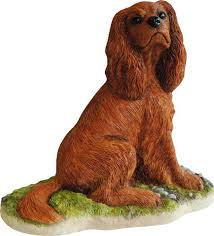 cavalier king charles spaniel figurine 33 20 at etsy want