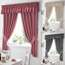 red kitchen curtains dzqxh com