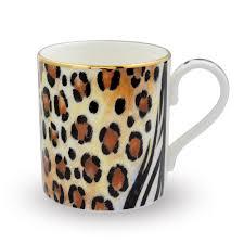 animal print fine bone china mug halcyon days