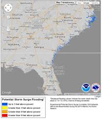 Map East Coast Florida by New Storm Surge Maps Debut With Ts Arthur Climate Central