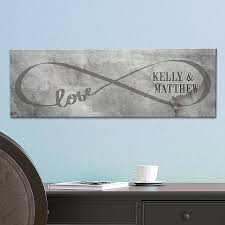 engraved wedding gifts ideas infinity canvas crafts infinity canvases and gift