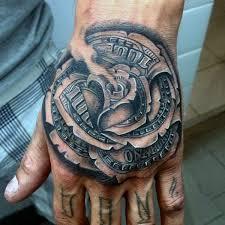 ponad 25 wyjątkowych pomysłów na temat money rose tattoo na