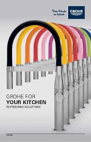 colored kitchen faucets essence kitchen faucets grohe