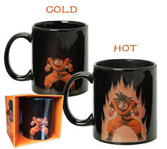 Color Changing Mugs Goku Kamehameha Coffee Mug With Heat Reactive