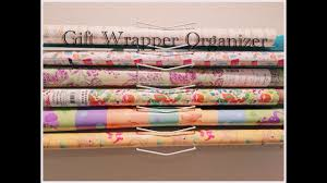 Wrapping Paper Wall Mount Gift Wrap Wall Organizer Usland Info
