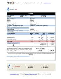 free proforma invoice templates 8 examples word excel