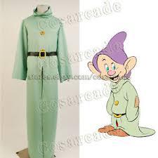 Dopey Dwarf Halloween Costume Snow White Dwarfs Cosplay Costume Dopey Robe