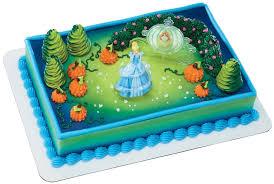cinderella cake decopac disney princess cinderella magic decoset toys