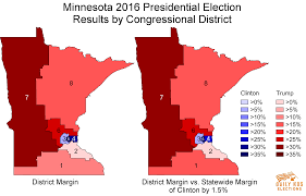 Election 2016 Map by Minnesota U0027s 2016 Elections Show Both The Promise And Limits Of