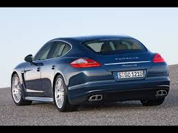 new porsche 4 door 2010 porsche panamera 4s rear angle 1920x1440 wallpaper