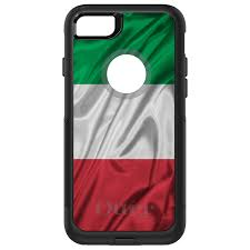 Green Black Red Flag Otterbox Commuter For Iphone 5 Se 6 S 7 8 Plus X Red White Italian