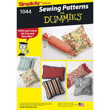 sewing patterns home decor pattern for pillows in various styles simplicity