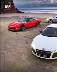 corvette vs audi r8 porsche 997 turbo s mk ii vs aston martin v12 vantage vs audi r8
