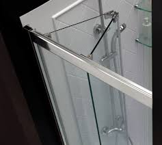a bathroom with a view choosing the right shower door