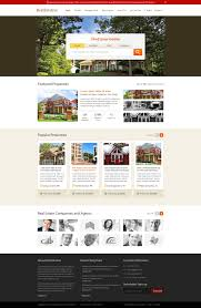 Web Templates For Real Estate by Free Home Page Layout For Real Estate Website Freebies Fribly