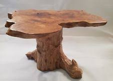 tree trunk coffee table tree table ebay