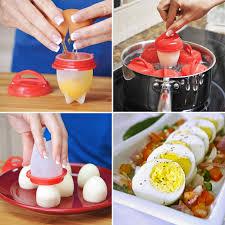 de cuisine qui cuit les aliments exclusif l œuf qui cuit sans coquille pack de 6 cuits oeufs