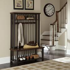 Entryway Bench And Storage Shelf With Hooks Furniture Tall Entryway Storage Furniture Features Bench With