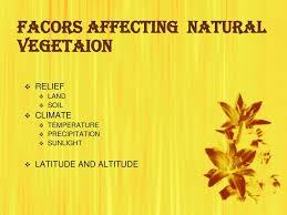 Natural vegetation and wild life ppt download