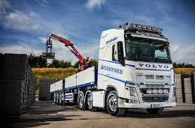 new volvo fh truck alyestone transport u0027s new fh 540 show truck majors on safety and