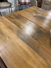 how to stain unfinished pine how to finish a pine farmhouse table our re purposed home