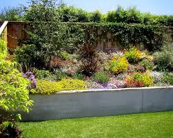 Landscape On A Hill Design Pictures Remodel Decor And Ideas - Retaining wall designs ideas
