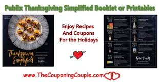 thanksgiving simplified booklet or printables