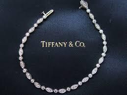necklace diamond ebay images Tiffany co platinum swing diamond tennis bracelet 7 quot 1 60ct jpg