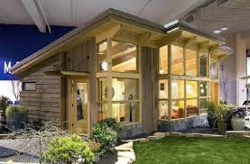 Prefabricated Cabins And Cottages by Fabcab Debuts Timberframe Model At Seattle Home Show Inhabitat