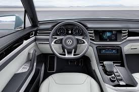 volkswagen crossblue interior volkswagen cross coupe gte unveiled at detroit