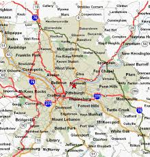 map of areas and surrounding areas 3 d window cleaning maintenance