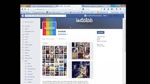 how to add instagram tab to facebook business page youtube