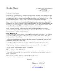 how to fix my resume resume heather michel 01 2017