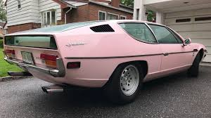 lamborghini espada pink lamborghini espada fails to sell on ebay