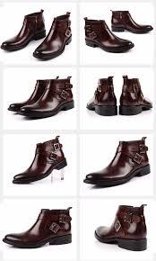 grimentin sale fashion men boots genuine leather double buckle