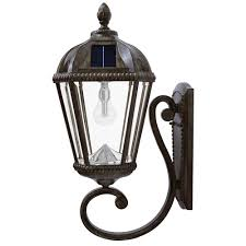 Home Depot Light Fixtures Outdoor by Solar Outdoor Wall Mounted Lighting Outdoor Lighting The