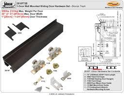 Barn Door Hardware Installation johnsonhardware com sliding folding pocket door hardware