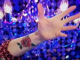 zoe ball u0027s new tattoo could be tribute to billy yates daily mail