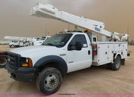 electric truck for sale 2007 ford f550 bucket truck item l5931 sold august 11 b