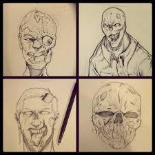 how to draw a zombie howtodrawfantasy wonderhowto