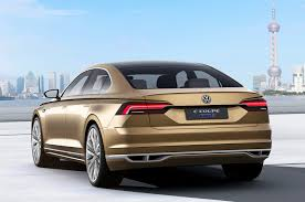 volkswagen coupe china focused volkswagen c coupe gte previews upcoming high end sedan
