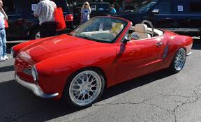 custom porsche boxster porsche customizer puts a 1972 karmann ghia body on a boxster s