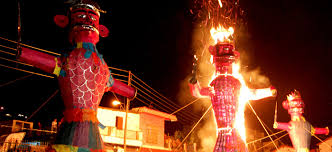 dussehra celebrating the victory of evil connected to india