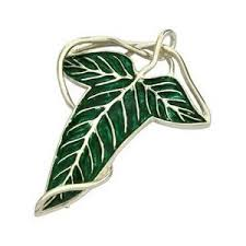 gillett s jewelers official lord of the rings leaf brooch or pendant g28346